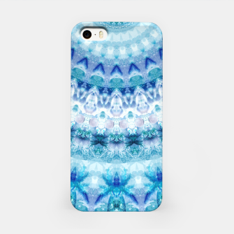 Bouncing Off Of Clouds Kaleidoscope Half  iPhone Case thumbnail image
