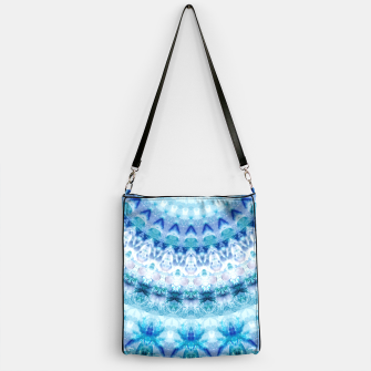 Bouncing Off Of Clouds Kaleidoscope Half  Handbag thumbnail image