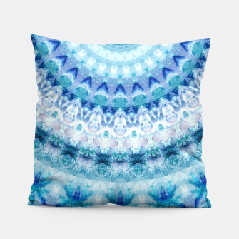 Bouncing Off Of Clouds Kaleidoscope Half  Pillow thumbnail image