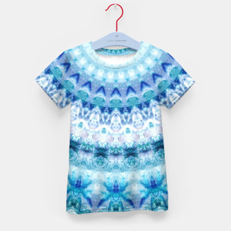 Bouncing Off Of Clouds Kaleidoscope Half  Kid's T-shirt thumbnail image