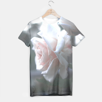 Thumbnail image of pink rose tee, Live Heroes
