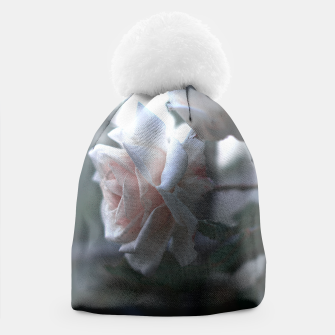 Thumbnail image of pink rose beanie, Live Heroes