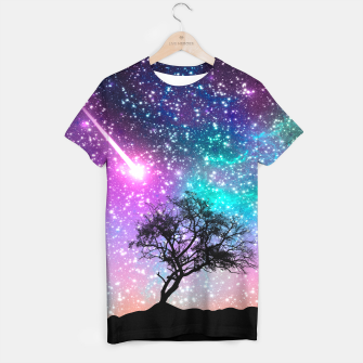 Thumbnail image of Galaxy Tree T-shirt, Live Heroes