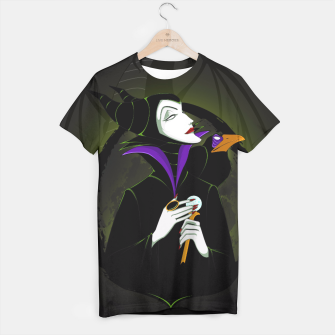 Thumbnail image of Maleficent Camiseta, Live Heroes