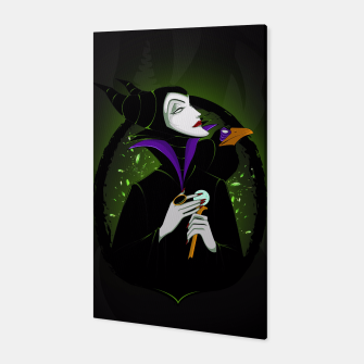 Thumbnail image of Maleficent Canvas, Live Heroes
