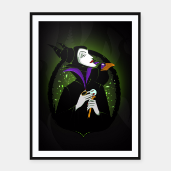 Thumbnail image of Maleficent Cartel con marco, Live Heroes