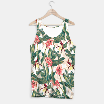 Thumbnail image of Tropical Leaf Pattern Tank Top, Live Heroes