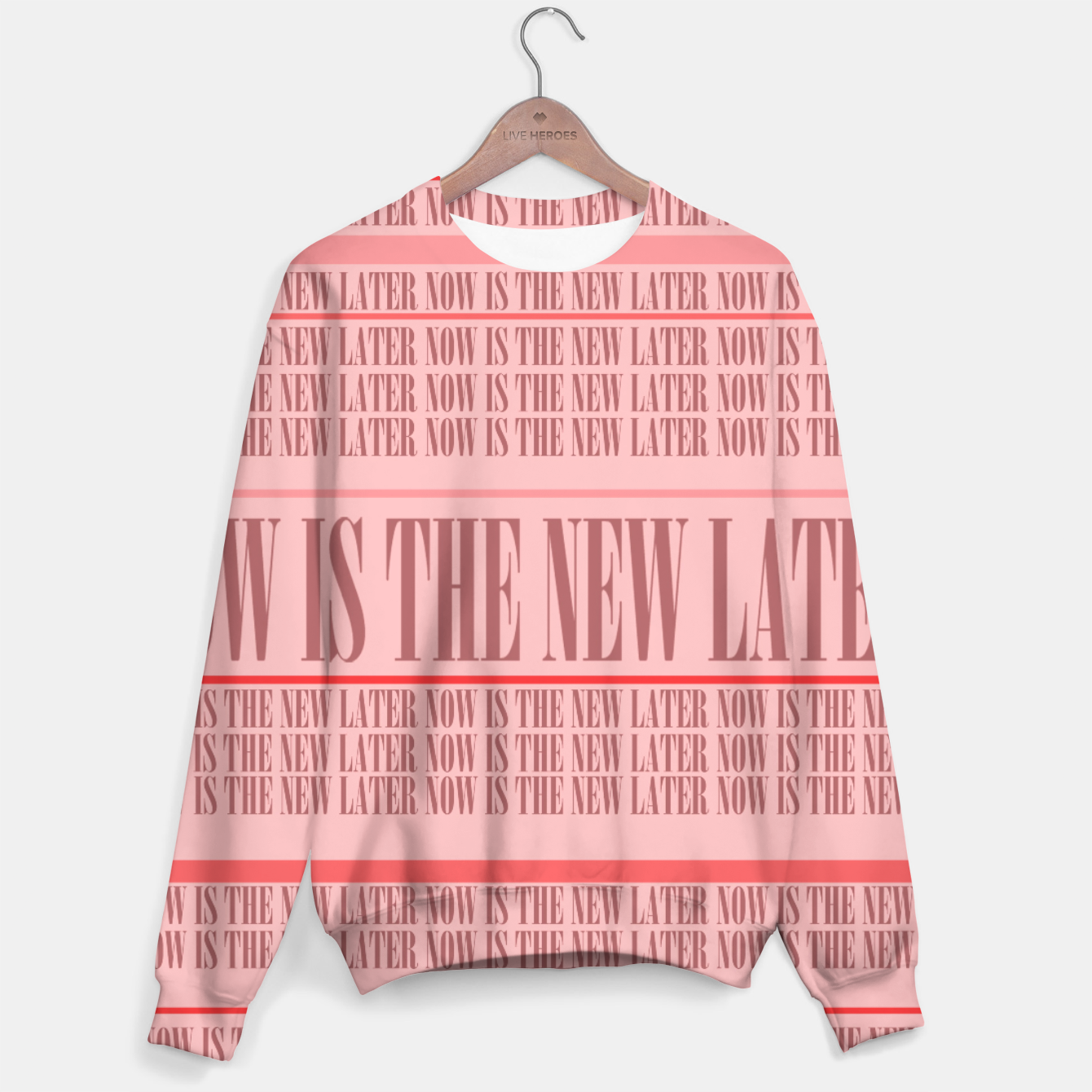Image of Now or Never Sweater - Live Heroes