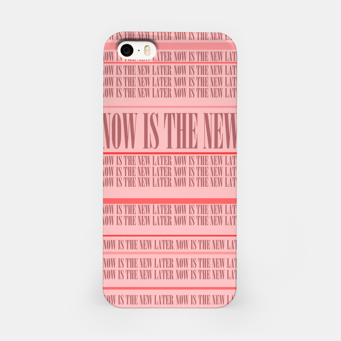 Image of Now or Never iPhone Case - Live Heroes