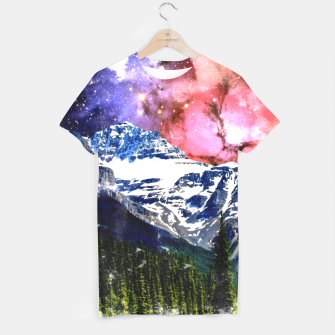 Thumbnail image of Mountain View T-shirt, Live Heroes