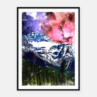 Thumbnail image of Mountain View Framed poster, Live Heroes