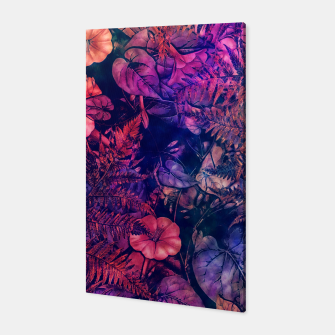 flowers purple Canvas Bild der Miniatur