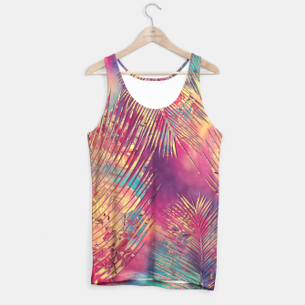 Thumbnail image of palm flower Tank Top, Live Heroes