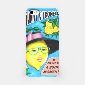 Miniaturka Miss Sunny Citronella iPhone Case, Live Heroes