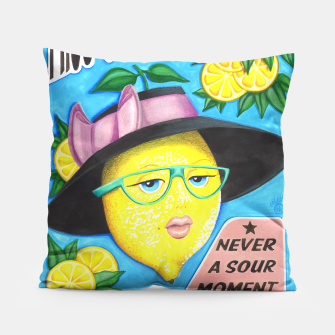 Miniaturka Miss Sunny Citronella Pillow, Live Heroes