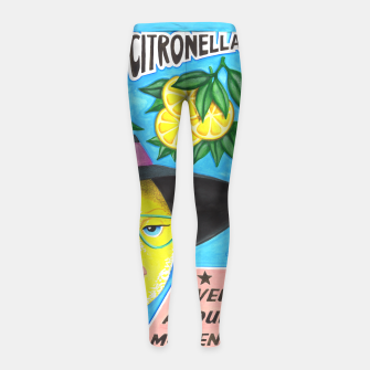 Miniaturka Miss Sunny Citronella Girl's Leggings, Live Heroes
