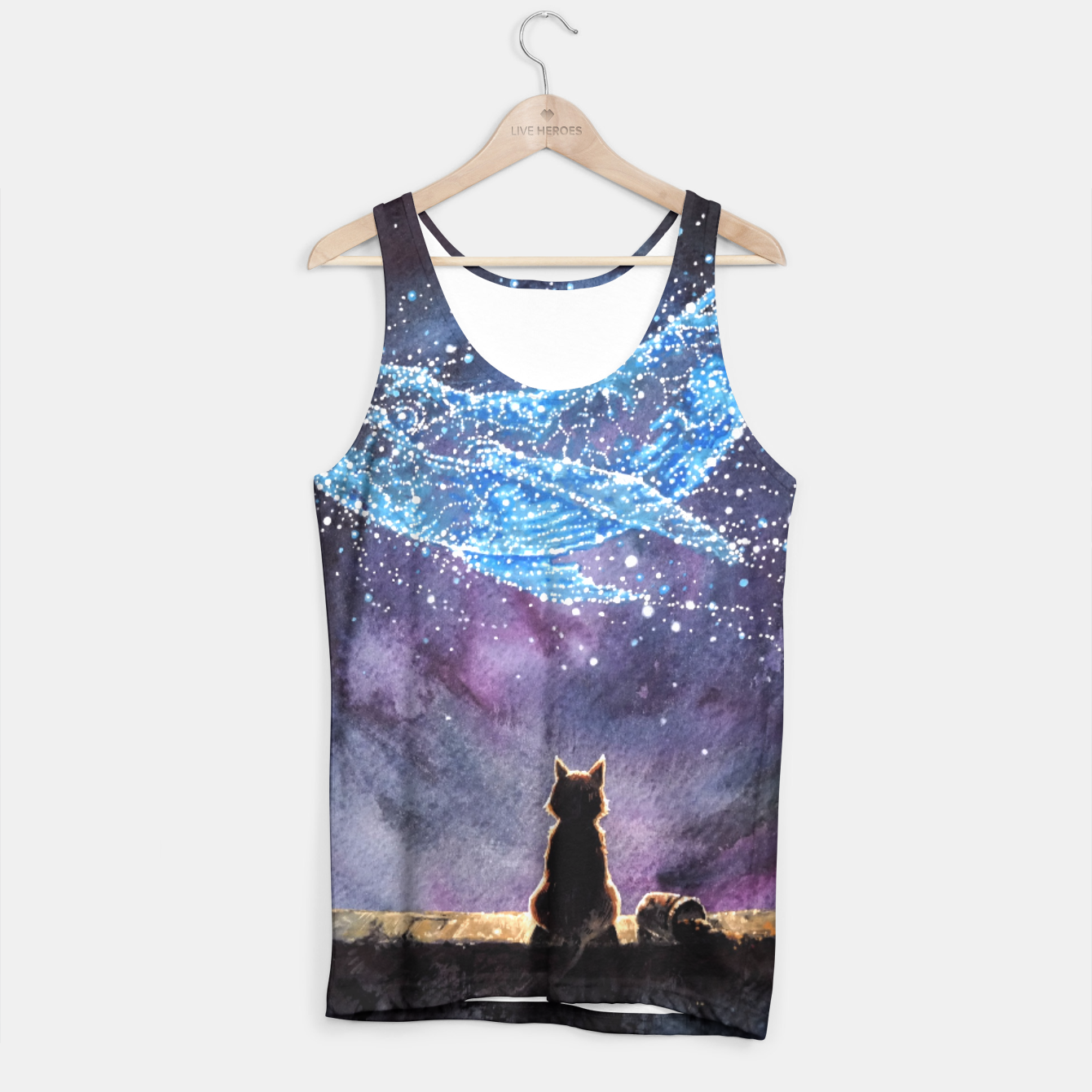 Image of Episode3 Whale Tank Top - Live Heroes