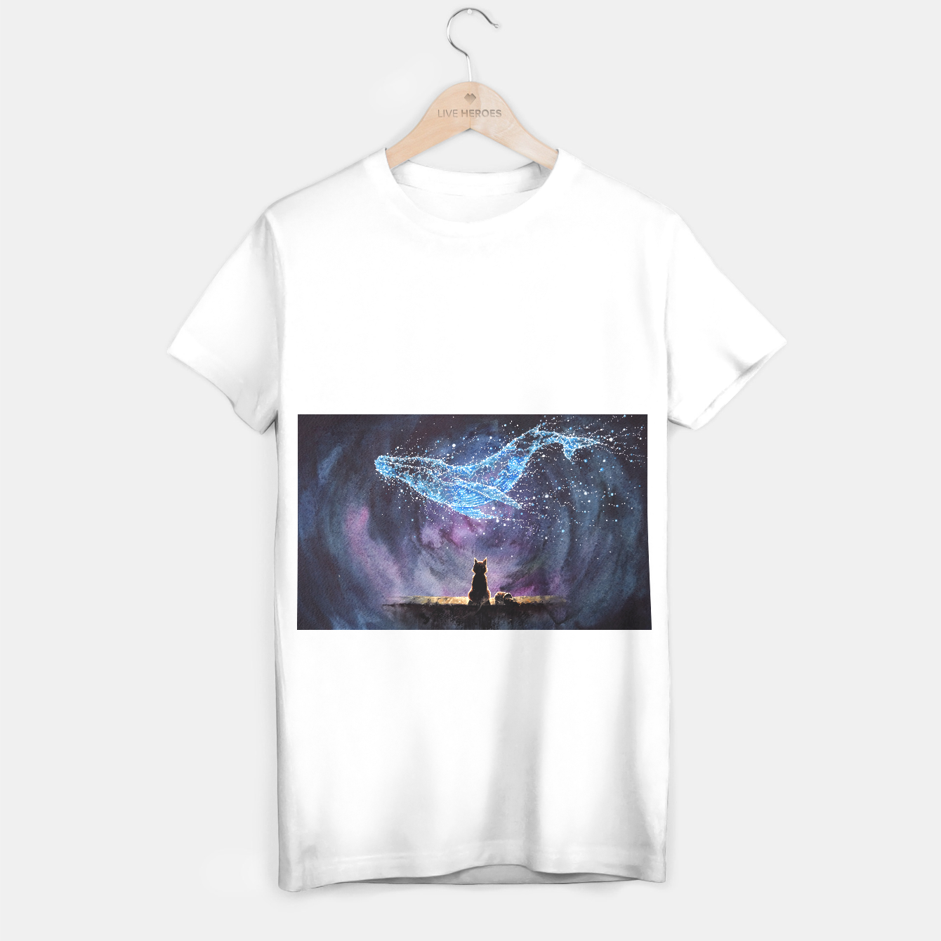Image of Episode3 Whale T-shirt regular - Live Heroes