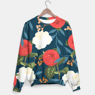 Thumbnail image of Floral Obsession V2 Sweater, Live Heroes
