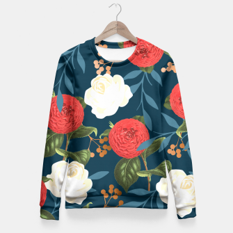 Thumbnail image of Floral Obsession V2 Fitted Waist Sweater, Live Heroes