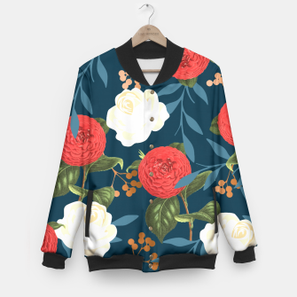 Thumbnail image of Floral Obsession V2 Baseball Jacket, Live Heroes