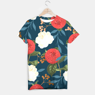 Thumbnail image of Floral Obsession V2 T-shirt, Live Heroes