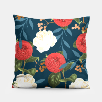 Thumbnail image of Floral Obsession V2 Pillow, Live Heroes