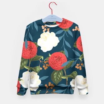 Thumbnail image of Floral Obsession V2 Kid's Sweater, Live Heroes