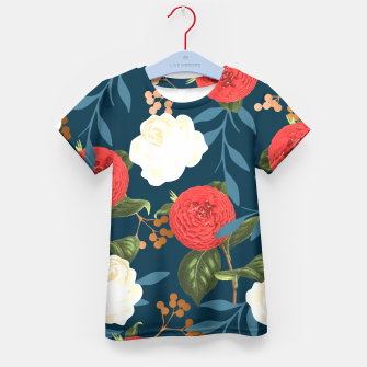 Thumbnail image of Floral Obsession V2 Kid's T-shirt, Live Heroes