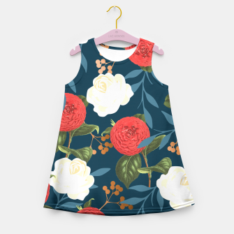 Thumbnail image of Floral Obsession V2 Girl's Summer Dress, Live Heroes