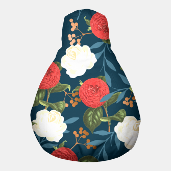 Thumbnail image of Floral Obsession V2 Pouf, Live Heroes