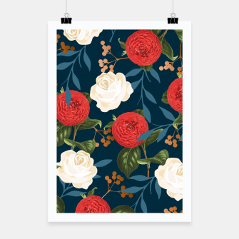 Thumbnail image of Floral Obsession V2 Poster, Live Heroes