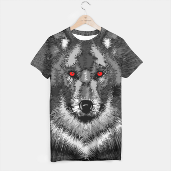 Thumbnail image of Wolf T-shirt, Live Heroes