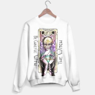 Thumbnail image of The Witch Moon Tarot Sweater, Live Heroes