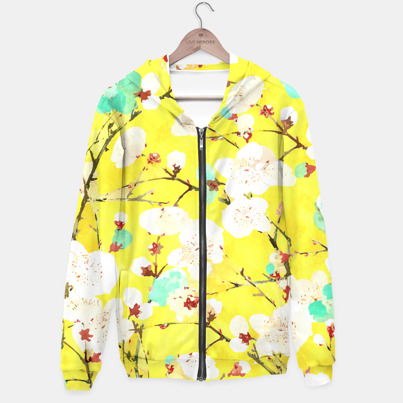 Image of Cherry Blossom Hoodie - Live Heroes