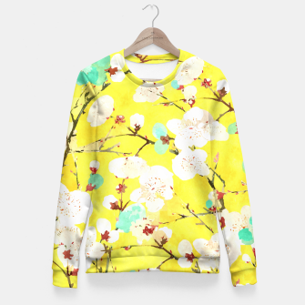 Cherry Blossom Fitted Waist Sweater thumbnail image