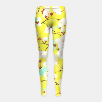 Cherry Blossom Girl's Leggings thumbnail image