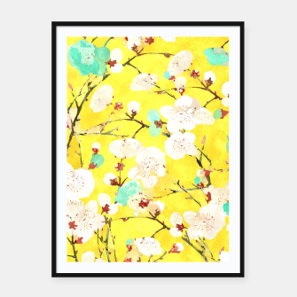 Thumbnail image of Cherry Blossom Framed poster, Live Heroes
