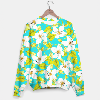 Thumbnail image of White Floral Sweater, Live Heroes