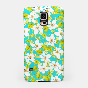 Thumbnail image of White Floral Samsung Case, Live Heroes