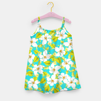 Thumbnail image of White Floral Girl's Dress, Live Heroes
