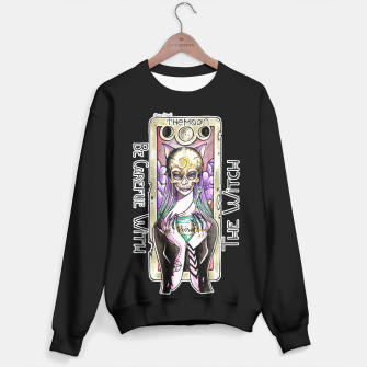 Thumbnail image of The Witch Moon Tarot - Black Version Sweater, Live Heroes