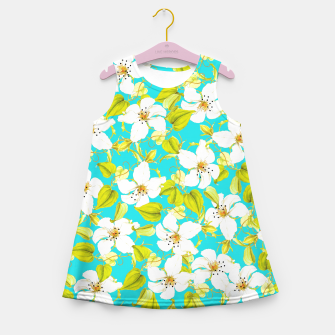 Thumbnail image of White Floral Girl's Summer Dress, Live Heroes