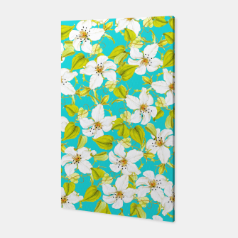 Thumbnail image of White Floral Canvas, Live Heroes