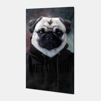 Metal Pug Canvas thumbnail image