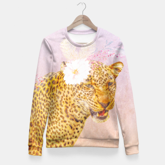 Thumbnail image of Felinae Fitted Waist Sweater, Live Heroes