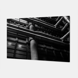 Thumbnail image of Industrial Pipes Canvas, Live Heroes
