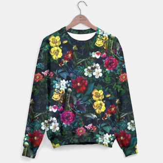Thumbnail image of Flowers and Skeletons Sweater, Live Heroes