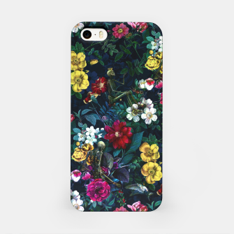 Thumbnail image of Flowers and Skeletons iPhone Case, Live Heroes