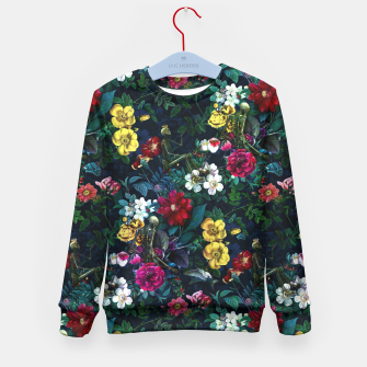 Thumbnail image of Flowers and Skeletons Kid's Sweater, Live Heroes
